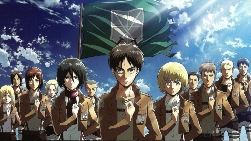 Why Attack on Titan is the best anime right now